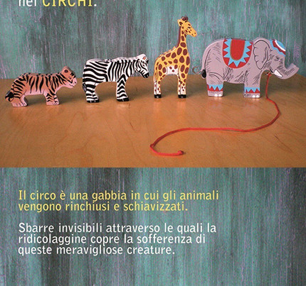 no animali circo