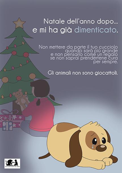 no cucciolo regalo
